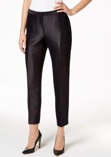 Calvin Klein Jacquard Straight-Leg Pants