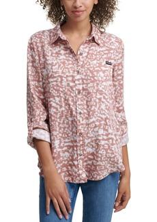 Calvin Klein Jeans Abstract Button Down Shirt