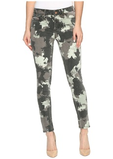 Calvin Klein Jeans Abstract Camo Ankle Skinny Pants