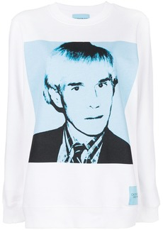 Calvin Klein Andy Warhol print sweatshirt
