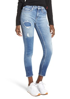 Calvin Klein Jeans Ankle Skinny Jeans (Forester Blue)