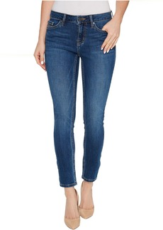 Calvin Klein Jeans Ankle Skinny Jeans in Flexible Blue Wash