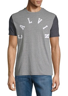 Calvin Klein Jeans Arched Logo Heathered Tee
