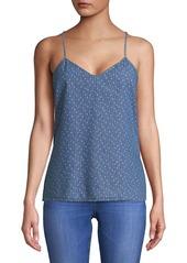 Calvin Klein Jeans Bella Printed Cotton Top