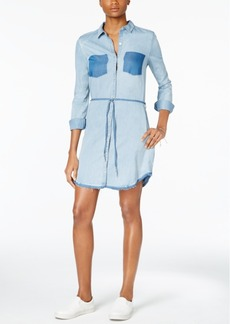 Calvin Klein Jeans Belted Denim Shirtdress