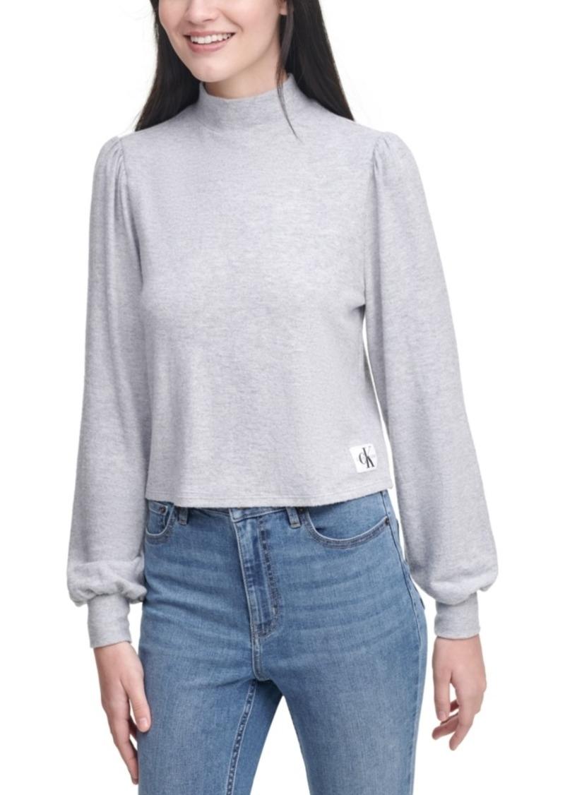 Calvin Klein Jeans Blouson-Sleeve Sweater