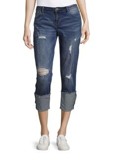 Calvin Klein Jeans Boyfriend-Fit Distressed Jeans