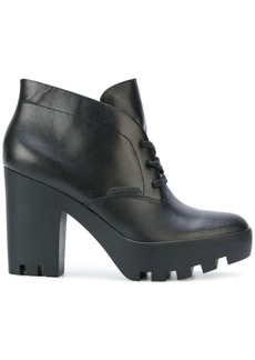 Calvin Klein Jeans chunky heel ankle boots - Black