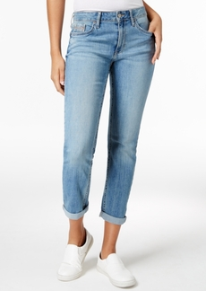 Calvin Klein Jeans Clouded Vista Wash Girlfriend Jeans
