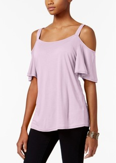 Calvin Klein Jeans Cold-Shoulder T-Shirt