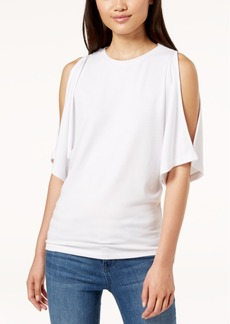 Calvin Klein Jeans Cold-Shoulder Top