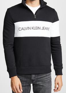 Calvin Klein Jeans Colorblock Half Zip Knit