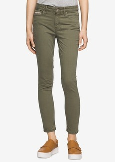 Calvin Klein Jeans Colored Wash Ankle Skinny Jeans