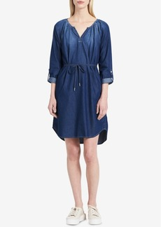 Calvin Klein Jeans Cotton Denim Dress
