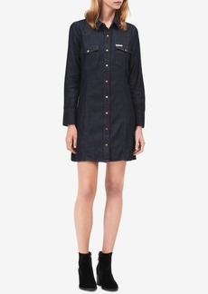 Calvin Klein Jeans Cotton Denim Shirtdress