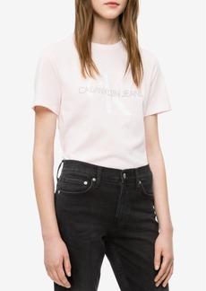 Calvin Klein Jeans Cotton Logo-Print T-Shirt