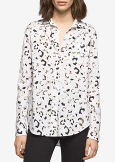 Calvin Klein Jeans Cotton Printed Shirt