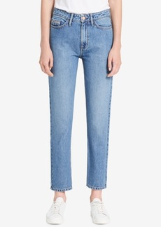 Calvin Klein Jeans Cotton Straight-Leg Jeans