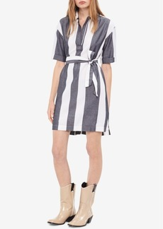 Calvin Klein Jeans Cotton Striped Shirtdress