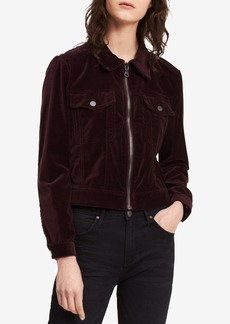 Calvin Klein Jeans Cotton Velvet Trucker Jacket
