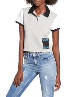 Calvin Klein Jeans Crop Polo