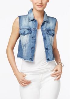 Calvin Klein Jeans Cropped Denim Vest