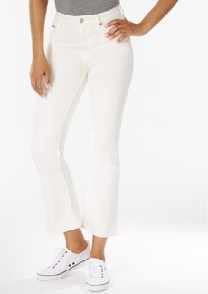 Calvin Klein Jeans Cropped Flare Jeans
