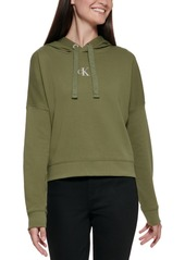 Calvin Klein Jeans Cropped French Terry Hoodie