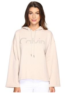 Calvin Klein Jeans Cropped Logo Hoodie