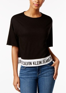 Calvin Klein Jeans Cropped Logo T-Shirt