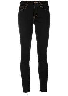 Calvin Klein Jeans cropped skinny jeans - Black