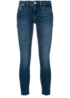 Calvin Klein Jeans cropped skinny jeans - Blue