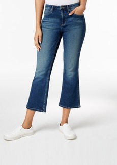 Calvin Klein Jeans Cropped Wide-Leg Jeans