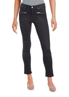 Calvin Klein Jeans Cropped Zipper Jeans