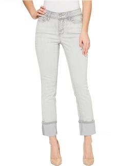 Curvy Skinny Jeans in Deep Cobalt Wash