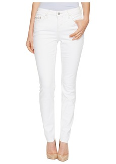 Calvin Klein Jeans Curvy Skinny Jeans in White Wash