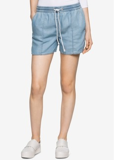 Calvin Klein Jeans Denim Drawstring Shorts