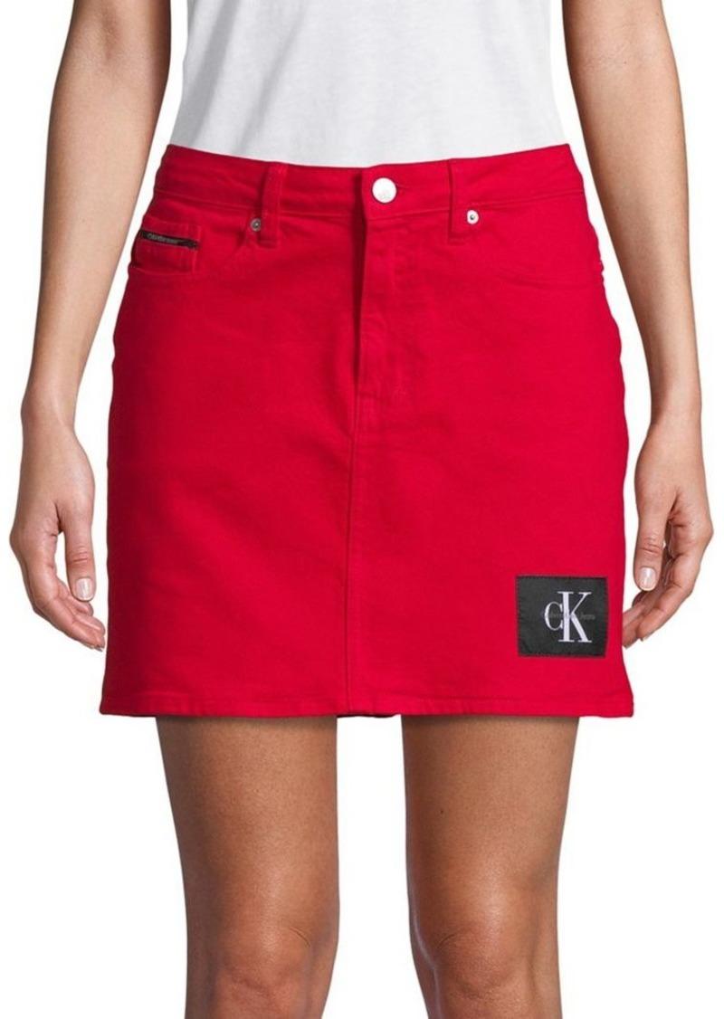 91aa41cd1f Calvin Klein Calvin Klein Jeans Denim Mini Skirt   Skirts