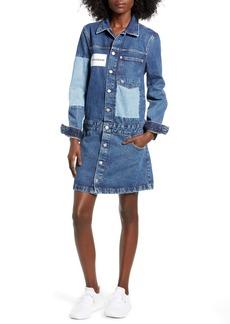 Calvin Klein Jeans Denim Trucker Dress