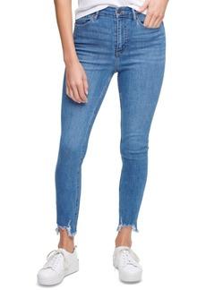 Calvin Klein Jeans Destroyed-Hem Jeans