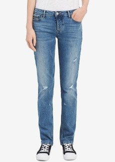 Calvin Klein Jeans Destructed Straight Jeans