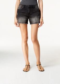 Calvin Klein Jeans Destructed Weekend Washed Black Denim Shorts