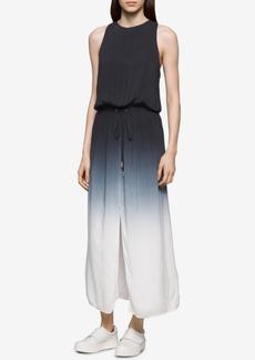 Calvin Klein Jeans Dip-Dyed Maxi Dress