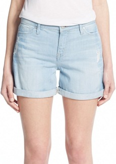 Calvin Klein Jeans Distressed Boyfriend Shorts