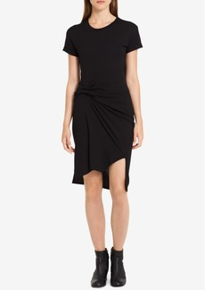 Calvin Klein Jeans Draped High-Low T-Shirt Dress