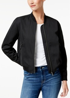 Calvin Klein Jeans Embroidered Logo Bomber Jacket