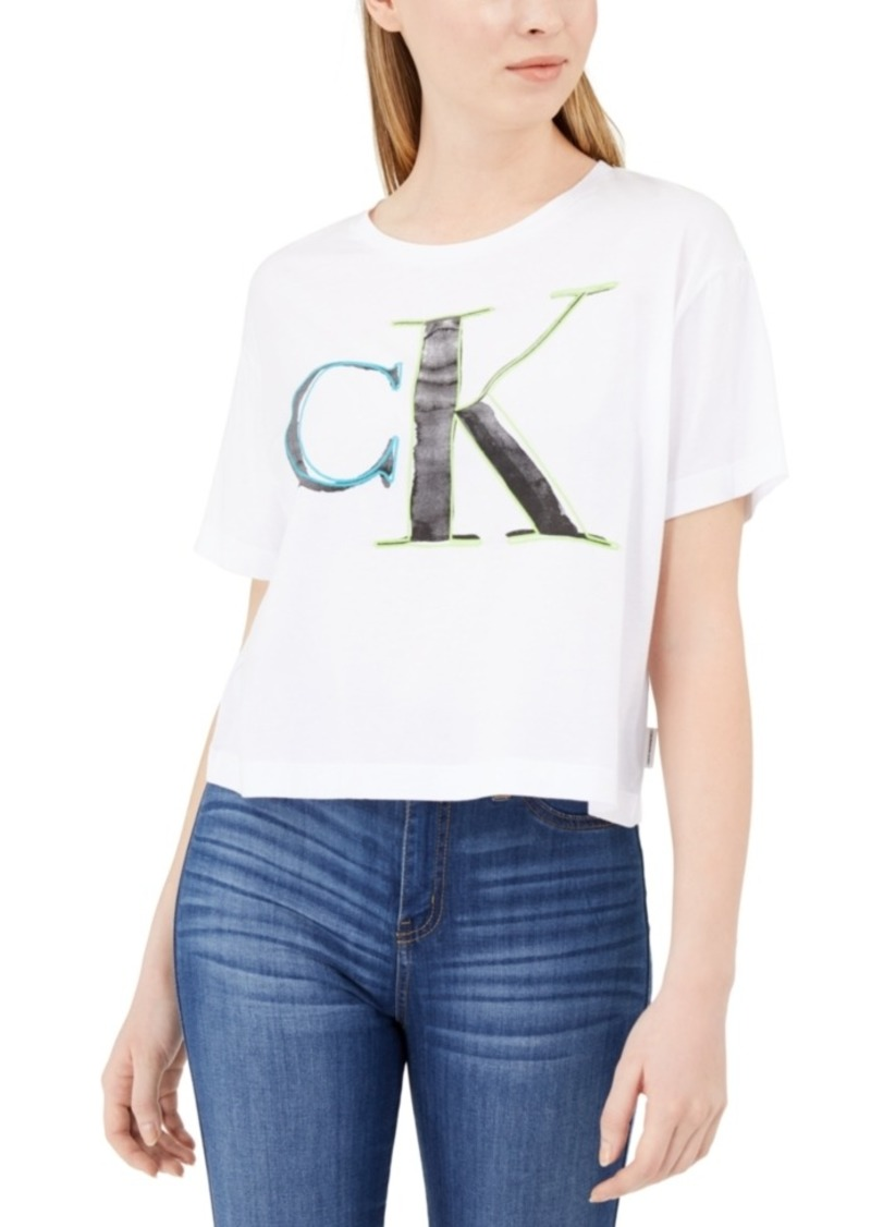 Calvin Klein Jeans Embroidered Logo T-Shirt