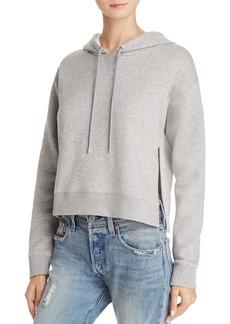 Calvin Klein Jeans Embroidered Split-Hem Hoodie