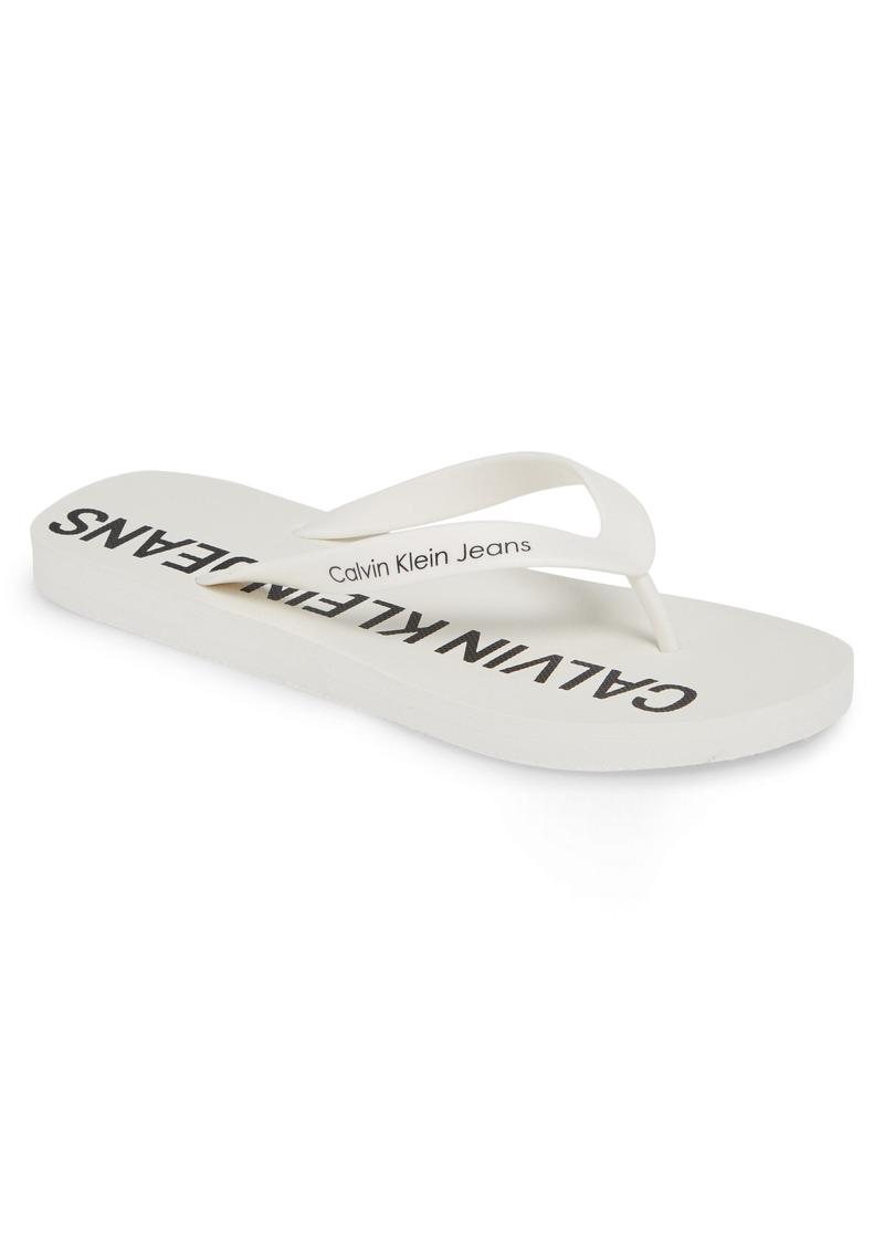 Calvin Klein Jeans Errol Flip Flop (Men)