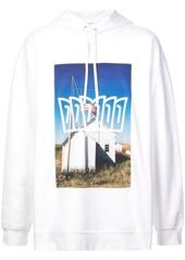 Calvin Klein photographic print hoodie